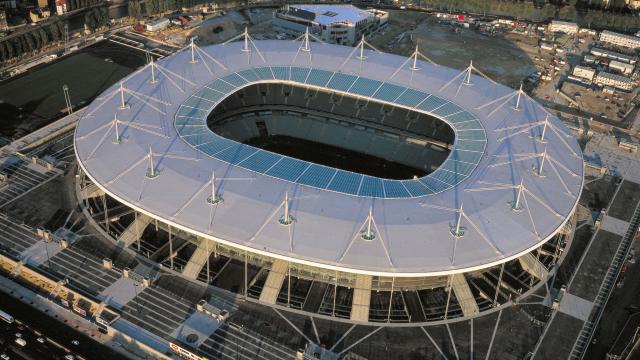Stade de France, vue du ciel