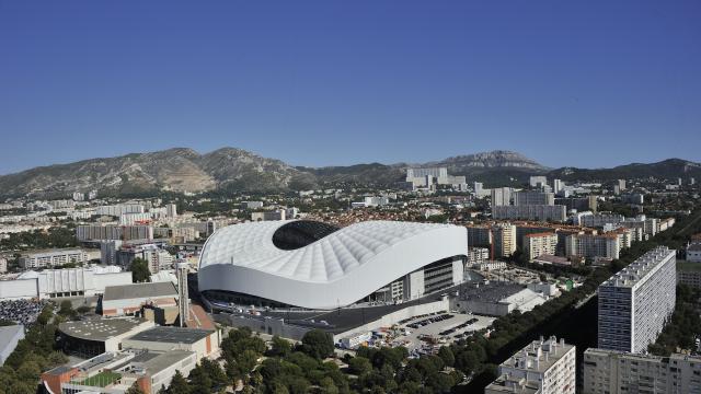 Le stade Vélodrome de Marseille