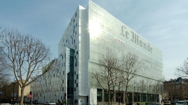 The Le Monde headquarters