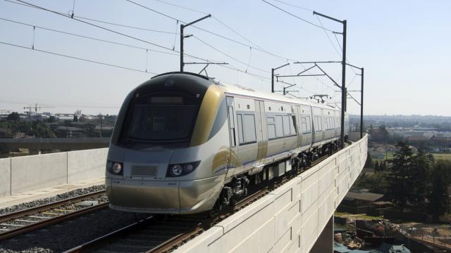 The Gautrain rail link