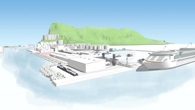 Centrale Thermique de Gibraltar