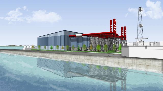 Gibraltar Thermal Power Plant