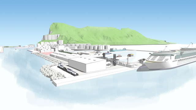 Gibraltar Thermal Power Plant