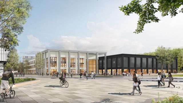 The Ecole Centrale Supélec University in Saclay