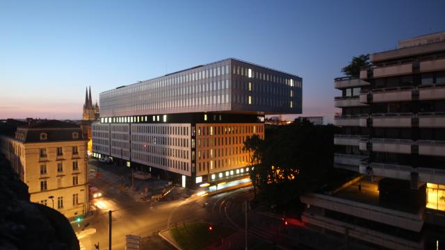 Bordeaux city council offices