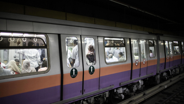 The Cairo metro
