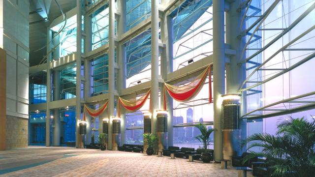 Hong Kong exhibition centre - 1997