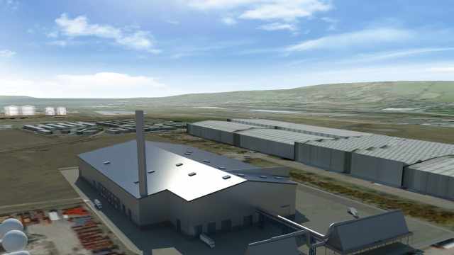 Biomass gasification plant | Bouygues Construction