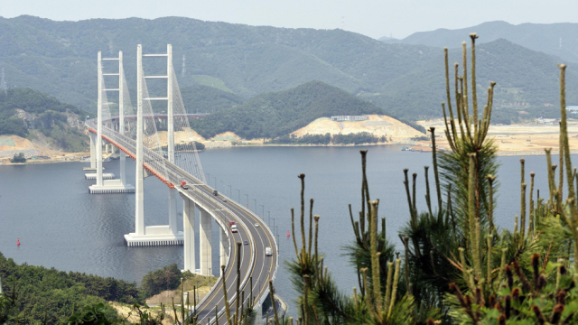Le pont de Masan