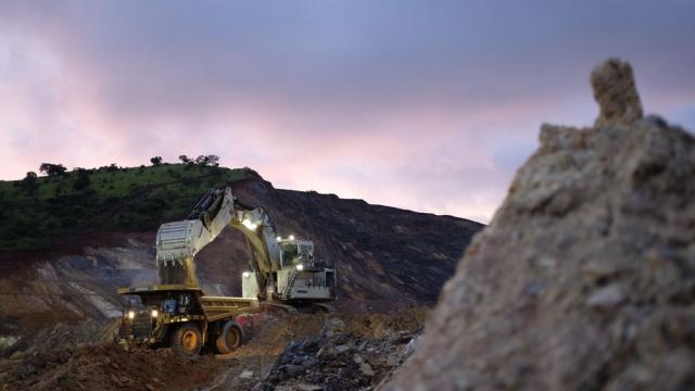 Mines d'or de Kibali