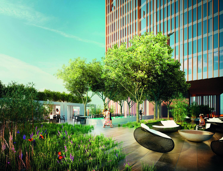 Rooftop Garden Inhabitat Green Design Innovation Architecture Bouygues Construction Is Chosen To Build Manhattan Loft Gardens Its