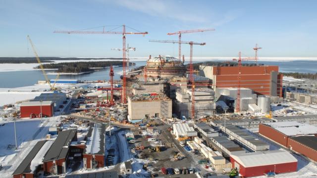 Olkiluoto EPR reactor