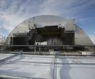 Tchernobyl - Poussage de l'arche