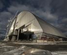 Poussage de l'arche de Tchernobyl