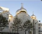 Construction time-lapse of the Russian Orthodox Spiritual and Cultural Centre