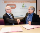 Partnership agreement Domolandes and Bouygues Construction
