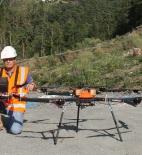 François-Xavier Lemoine, responsable de l'activité drones