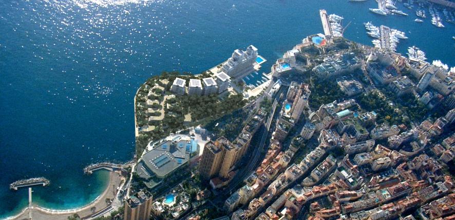 Monaco offshore urban extension
