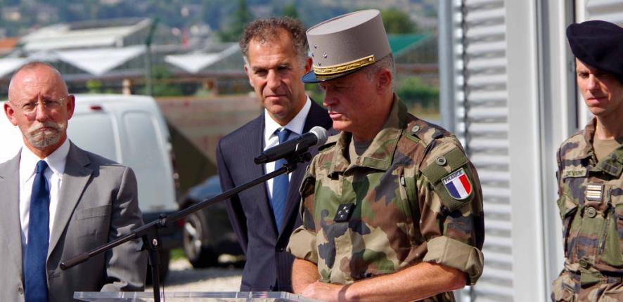 Premier bâtiment modulaire durable pour l'armée française !