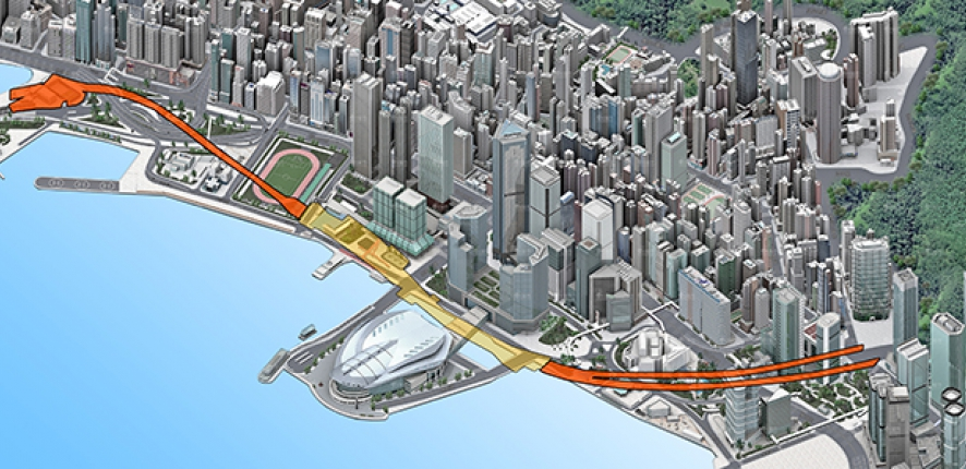 Bouygues Construction is awarded a contract worth approximatly €490 million to construct two tunnels for the Hong Kong metro