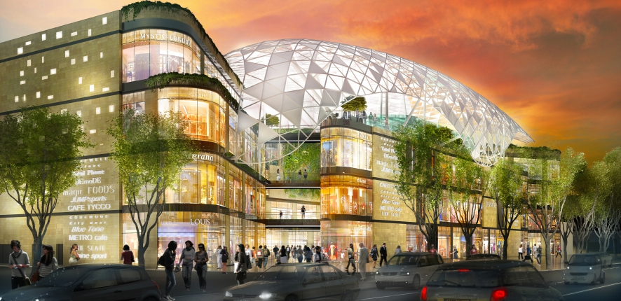 The Prado shopping centre in Marseille