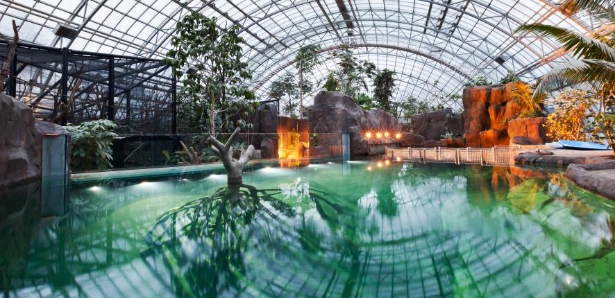 Serre tropicale Zoo de Vincennes