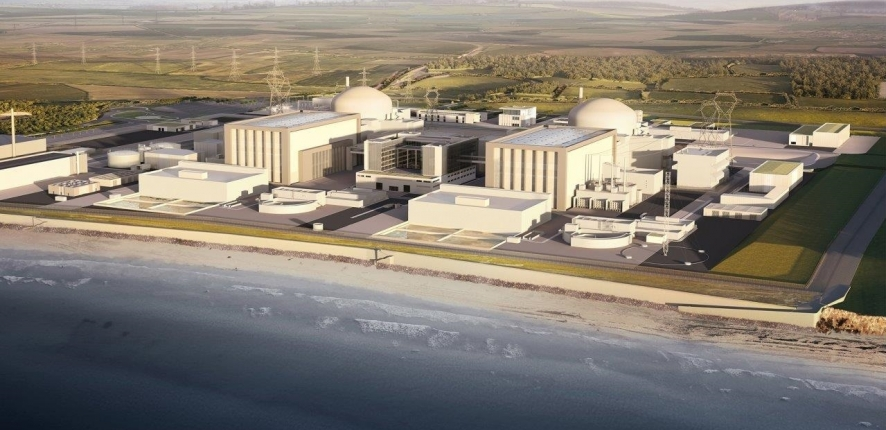 LA CENTRALE NUCLEAIRE D'HINKLEY POINT