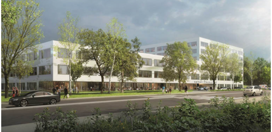 D marrage de la construction d un grand projet hospitalier for Projet en construction