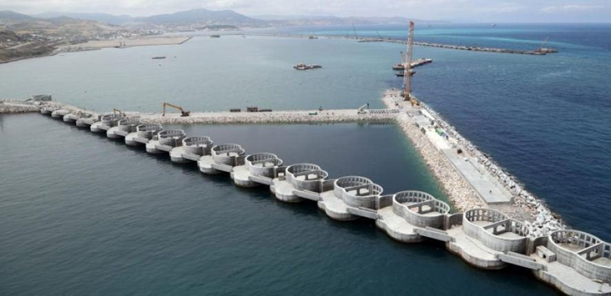 Tanger Med 2 Port, Morocco