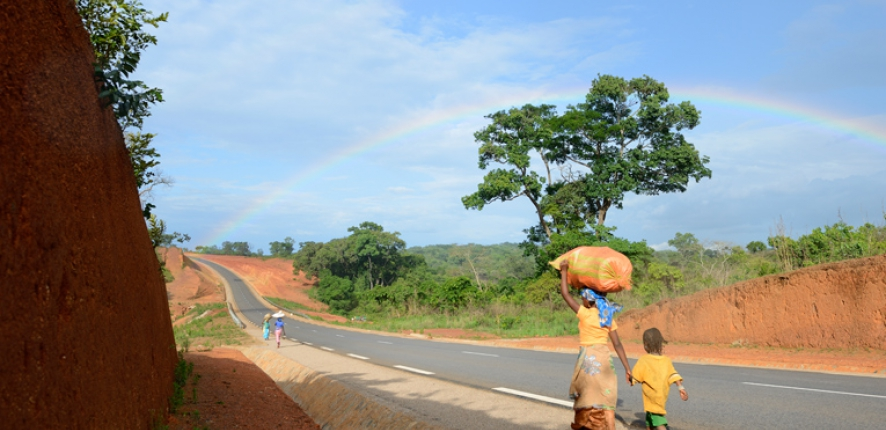 Garoua Boulaï-Nandeké road, Camroon