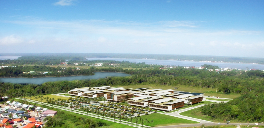New Hospital complex in western Guiana