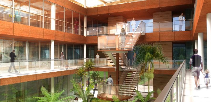 New Western Guiana hospital complex