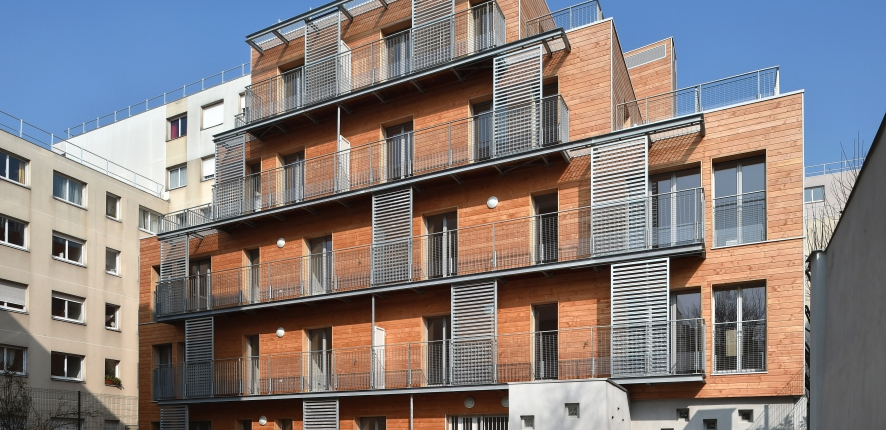 15 logements Rue des Ardennes, Paris 19e
