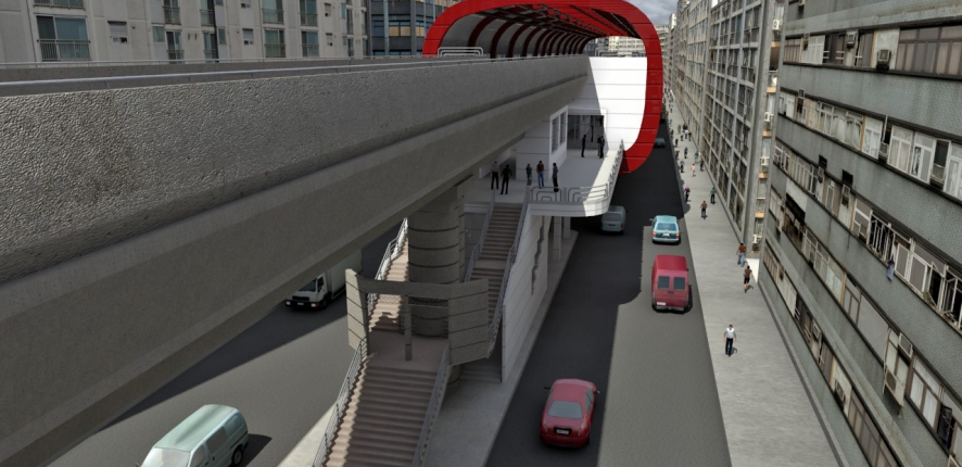 Cairo metro Phase 3 Line 3