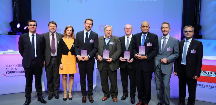 Trophées Fournisseurs 2014 - Bouygues Construction Purchasing