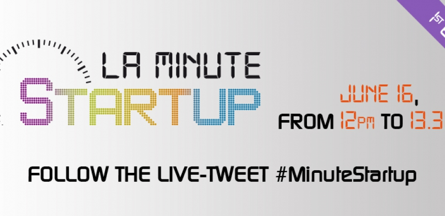 "First edition of ""La Minute Startup"" !"