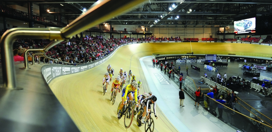 The National Velodrome in Saint-Quentin-en-Yvelines