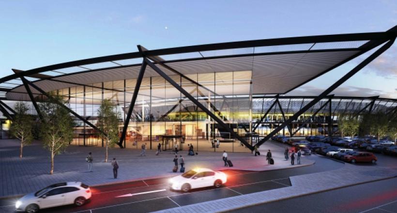 Terminal 1 at Lyon Saint-Exupéry Airport