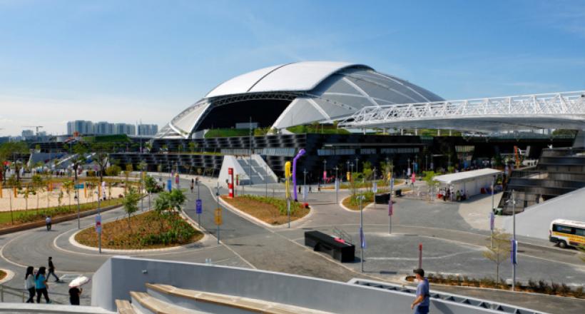 Sports Hub Singapour - Bouygues Construction