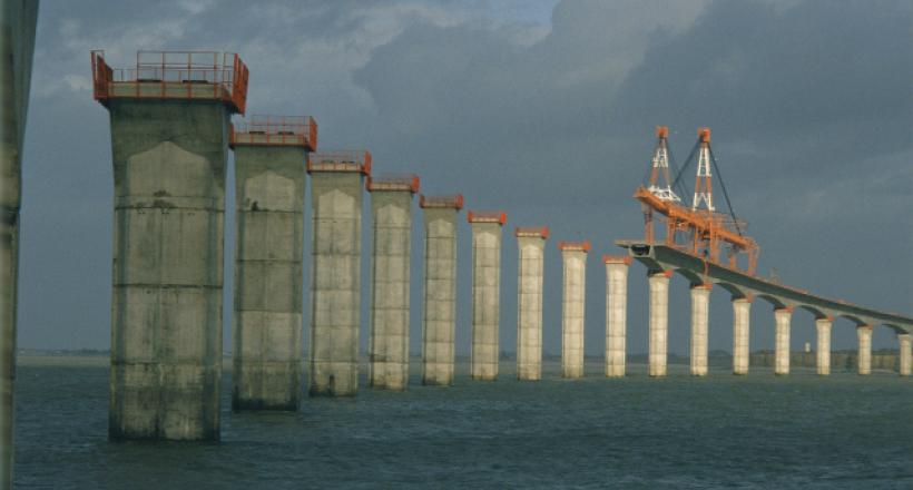 The Ile de Ré bridge