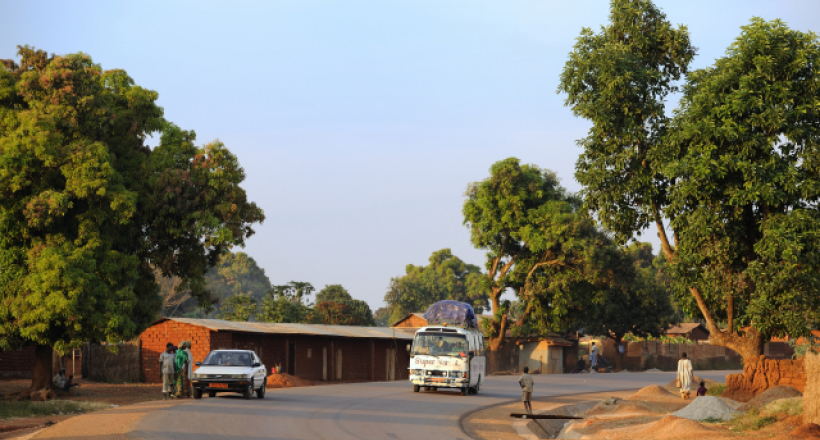 Route Garoua-Boulaï - Nandeké