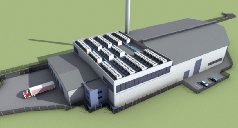 Hoddesdon Biomass gasification plant