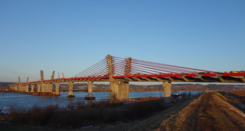 The Kwidzyn bridge