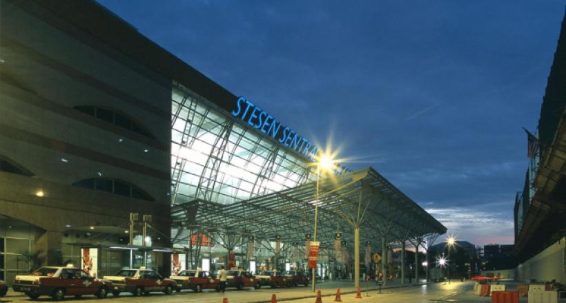 La gare centrale de Kuala Lumpur
