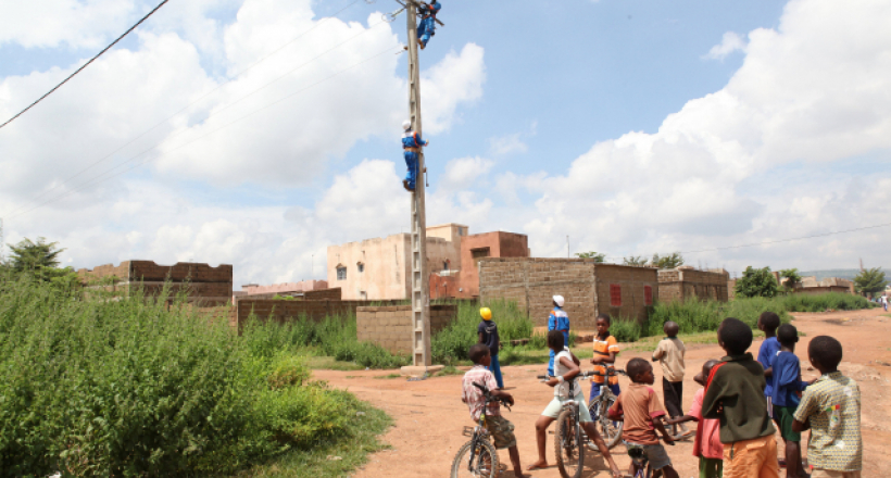 Electricity grids in Mali