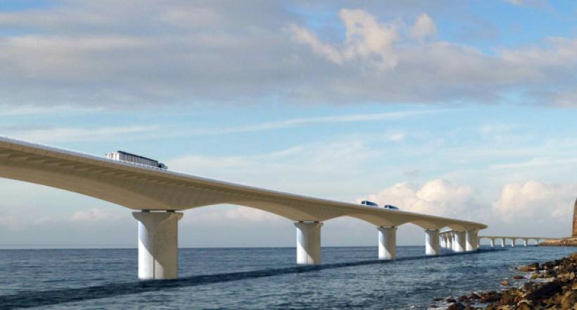 The coastal highway (Saint-Denis)
