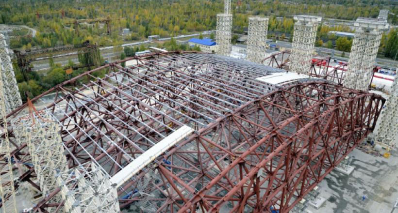 Le sarcophage de Tchernobyl