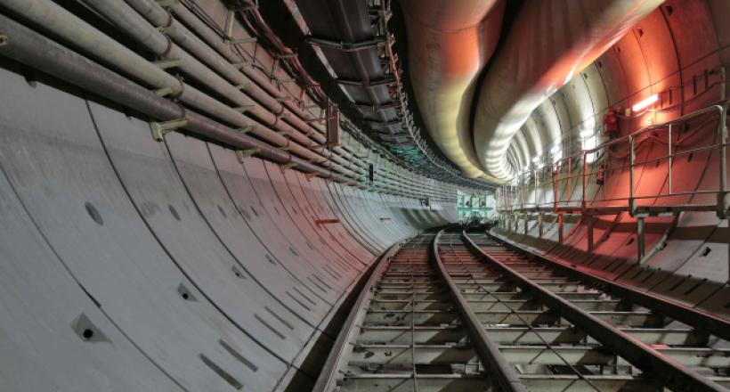 Tunnel hydraulique de Hong Kong