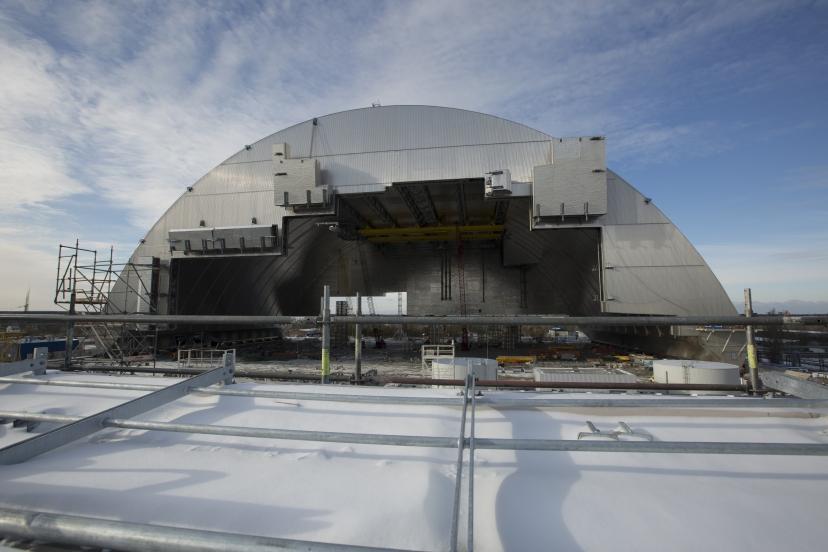 Enceinte de confinement de Tchernobyl