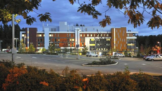L'hôpital Jim Pattison de Surrey, au Canada